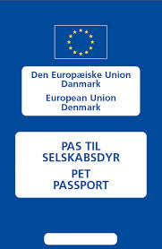 Blåt pas til kæledyr i EU.