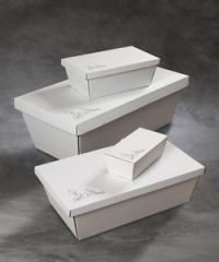 Kister i pap i forskellige størrelser